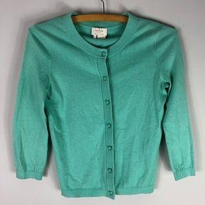 Kate Spade Sofia Bow Cardigan Sweater Cashmere
